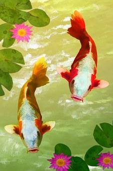 Broj 2 simbolizira partnerstvo - npr; ribe u paru